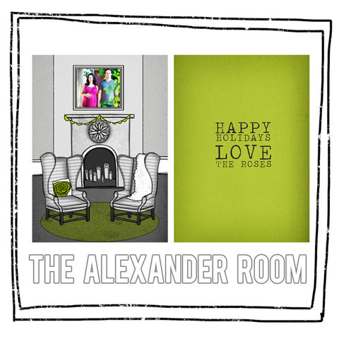 Card Template - THE ALEXANDER ROOM