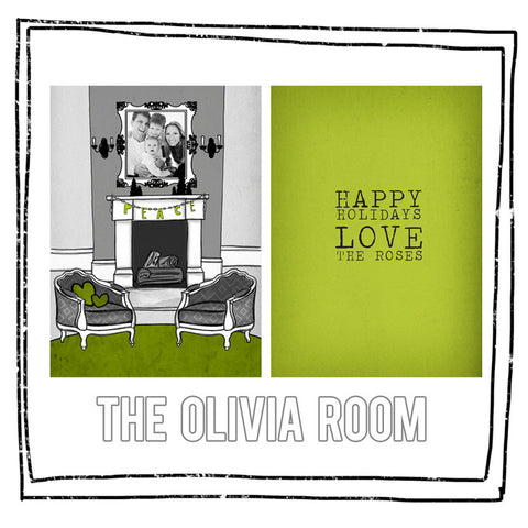 Card Template - THE OLIVIA ROOM
