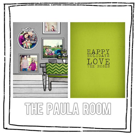 Card Template - THE PAULA ROOM