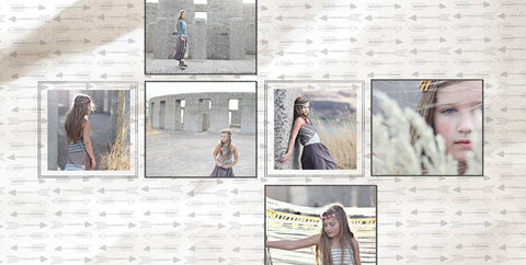 Album Templates- TRIBAL 12X12 FOR WHCC