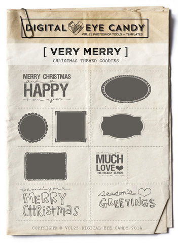 Very Merry Overlay Set