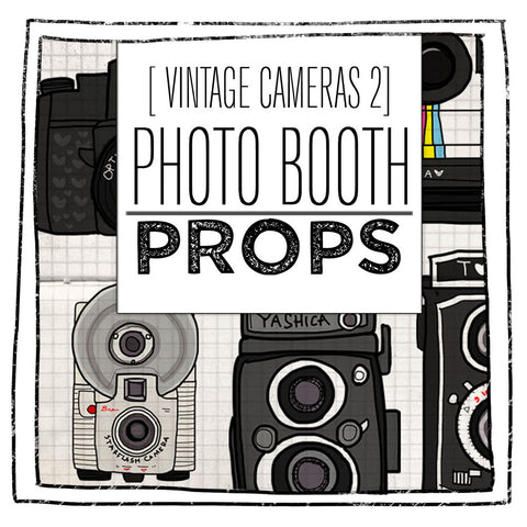 PRINTABLE PROPS- VINTAGE CAMERA SECOND EDITION