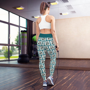 Aztec Goddess Yoga Leggings