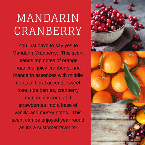 Mandarin Cranberry Candle