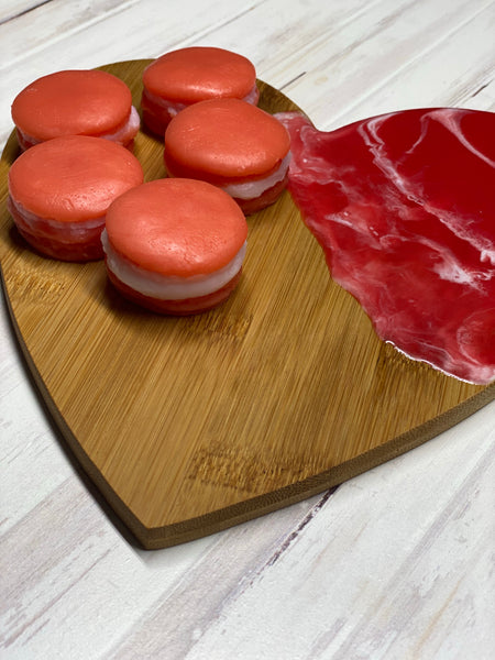 Peach Macaroon Wax Melts