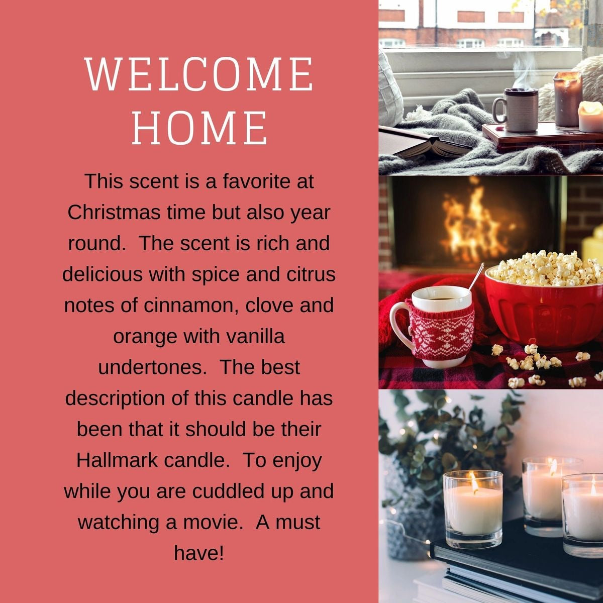 Welcome Home Candle