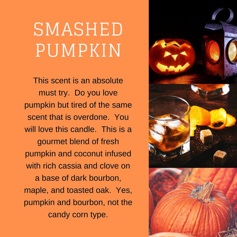 Smashed Pumpkin Candle