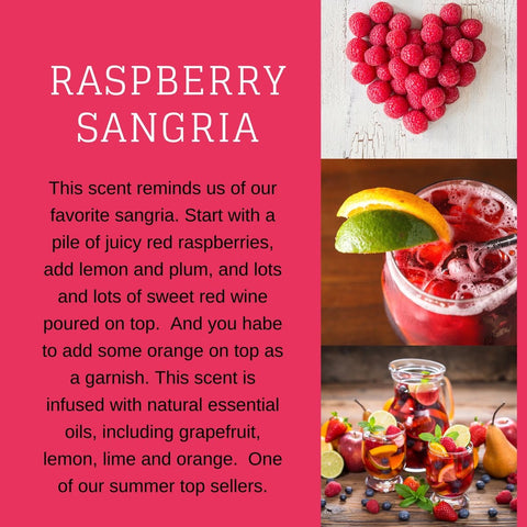Raspberry Sangria Candle