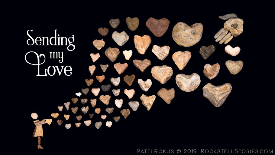 Win a Free Valentine's Rock Art Print AND the new Book about God's love!