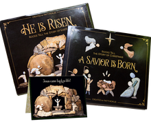 Load image into Gallery viewer, Bundle-Easter & Nativity books signed+ free Card