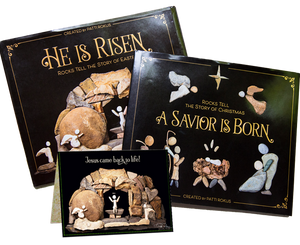 Bundle-Easter & Nativity books signed+ free Card