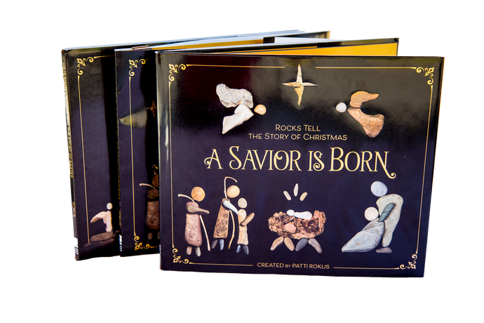 Nativity Christmas Book - A Savior is Born - Signed by the artist