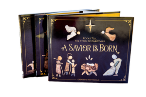Stack (Case) of 24 Christmas Books - A Savior is Born. Free shipping and 2 books free!