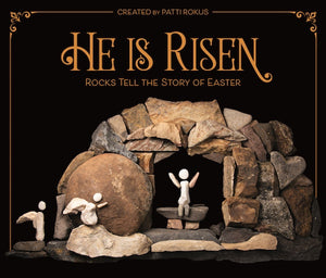 Stack (Case) of 24 Easter Books - He is Risen. Free shipping and 2 books free!