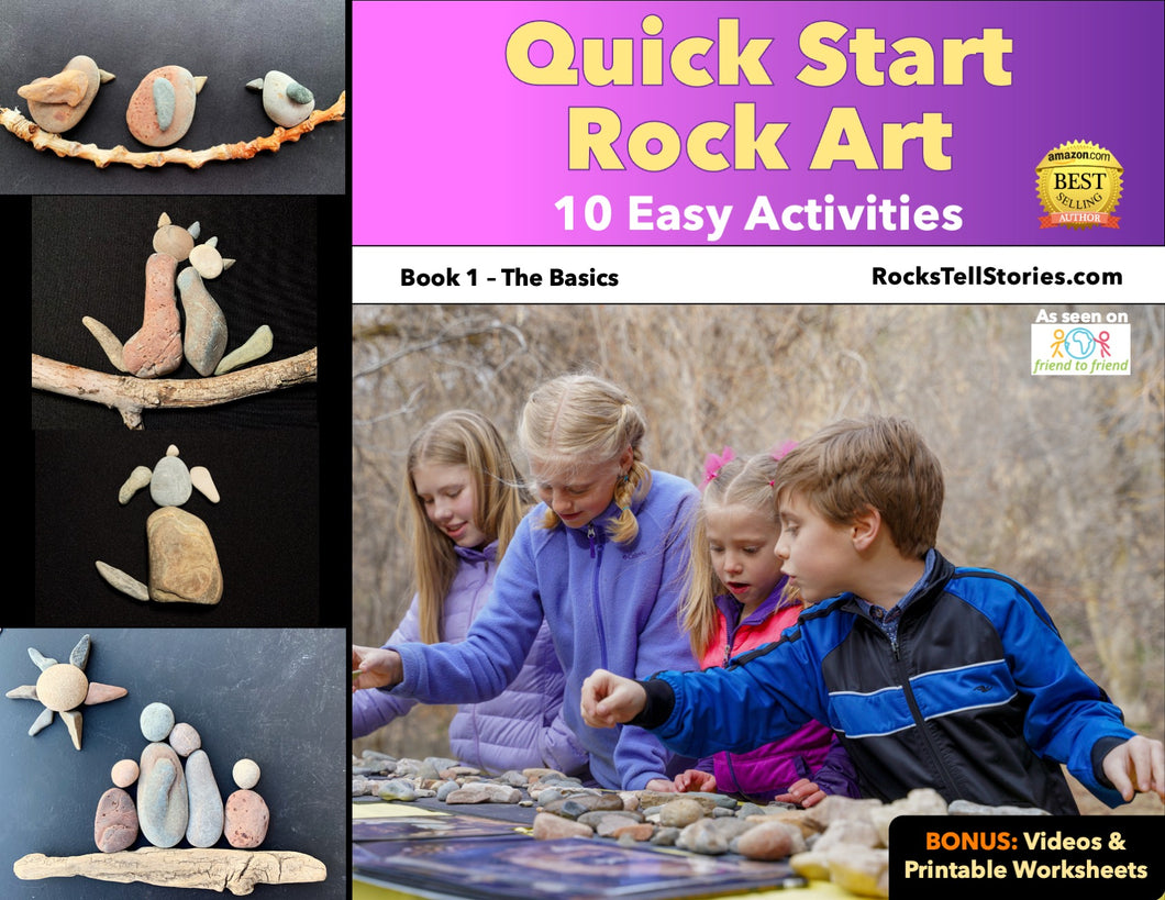 Quick Start Rock Art eBook - 10 Easy Activities - Digital Download Only
