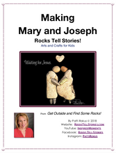 Load image into Gallery viewer, Guide DIY-Making Mary and Joseph - FREE download