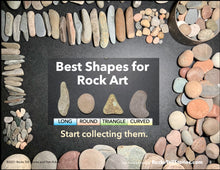 Load image into Gallery viewer, Quick Start Rock Art eBook - 10 Easy Activities - Digital Download Only