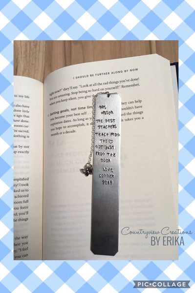 Custom Bookmark (Personalized as needed)