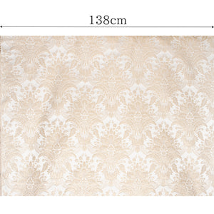 ファブリック Damask Silk Metalic