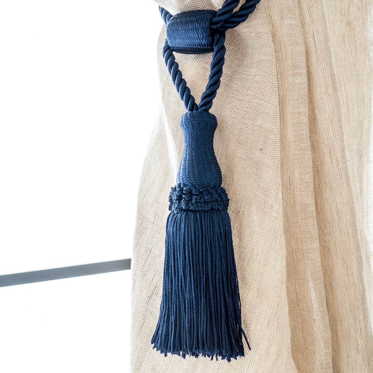 タッセル  Simple Fringe #Navy