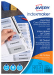 Kit IndexMaker™ A4 - Carte non perforée