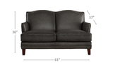 Oxford Leather Sofa Sets-Hydeline USA