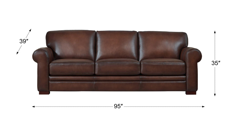 Brookfield Leather Sofas