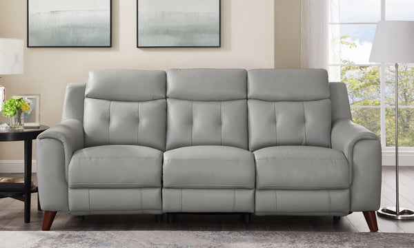 Torino Power Leather Sofas-Hydeline USA