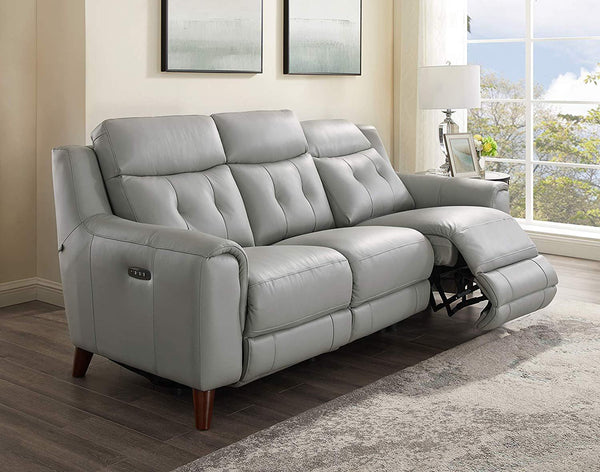 Torino Leather Power Sofa Sets-Hydeline USA