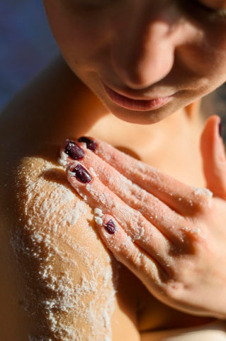 Relaxing Body Scrub At Home