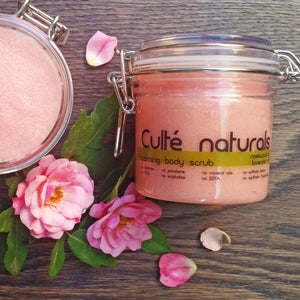 Calming Natural Exfoliating Body Scrub | Natural Body Scrub