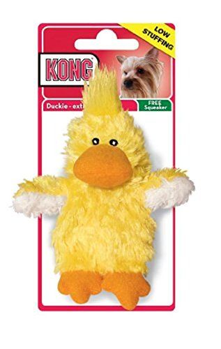 Kong Plush Duckie Dog Toy - [pups_path]