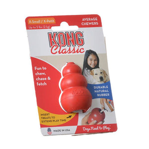 Kong Classic Dog Toy - Red - [pups_path]