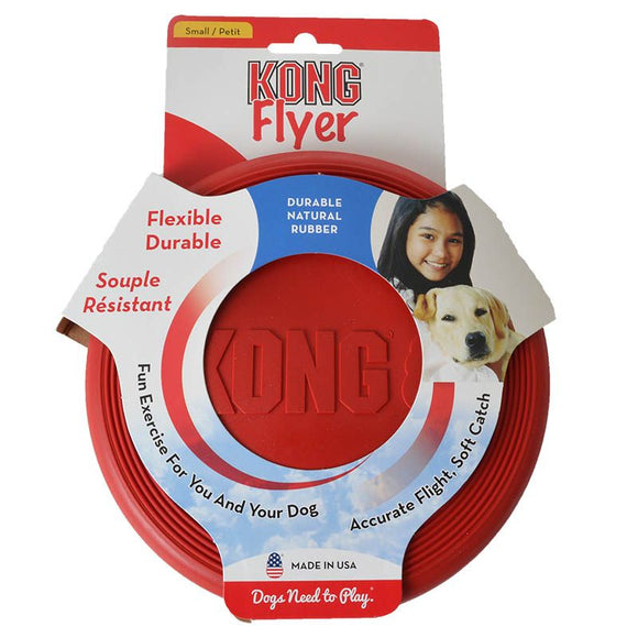 Kong Flyer Dog Disc Small 6.5 Diam - [pups_path]