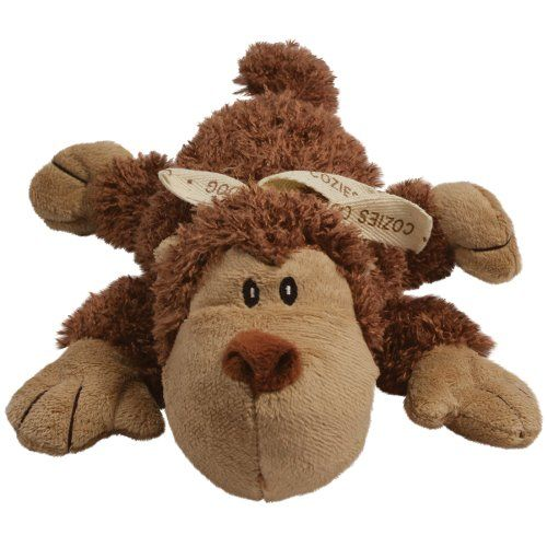 Kong Cozie Plush Toy - Spunky the Monkey - [pups_path]