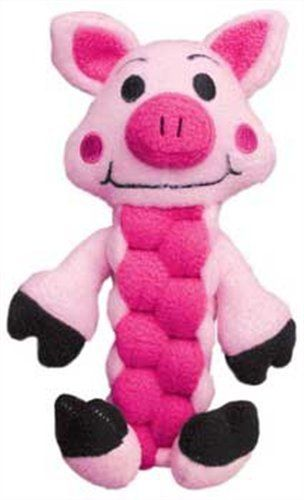 Kong Pudge Braidz Pig Medium-Large - [pups_path]