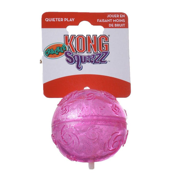 Kong Squeezz Crackle Ball Dog Toy medium - [pups_path]