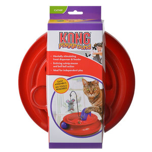 Kong Playground Treat Dispensing Cat Toy - [pups_path]