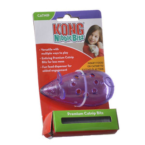 Kong Nibble Bitz Mouse Cat Toy - [pups_path]