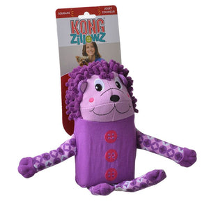 Kong Zillowz Hedgehog Dog Toy - [pups_path]