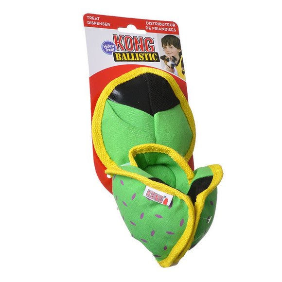 Kong Ballistic Hide N Treat Dog Toy - [pups_path]