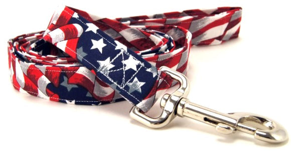 U.S.A. Flag Leash - [pups_path]