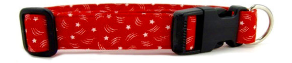 Red Stars Dog Collar - [pups_path]