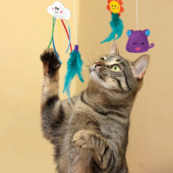 Kong Connects Cat Mobile Toy with Catnip