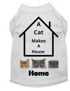 A Cat Makes A Home (Pet Shirt)