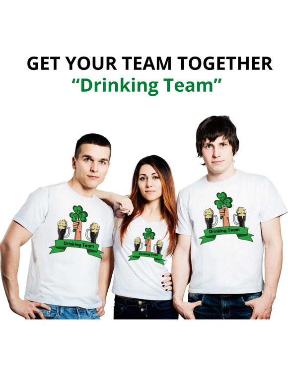 St Patty's Team (Human Shirt)