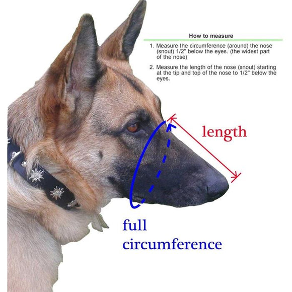 Adjustable Mesh Muzzle - Doglline