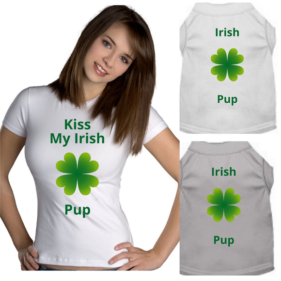 Kiss My Irish Pup Set