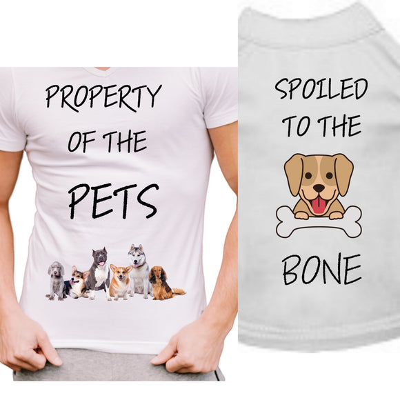 Property Of The Pets, Spoiled To The Bone Set