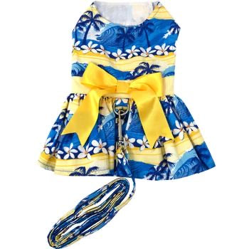 Catching The Waves Dress With Matching Leash